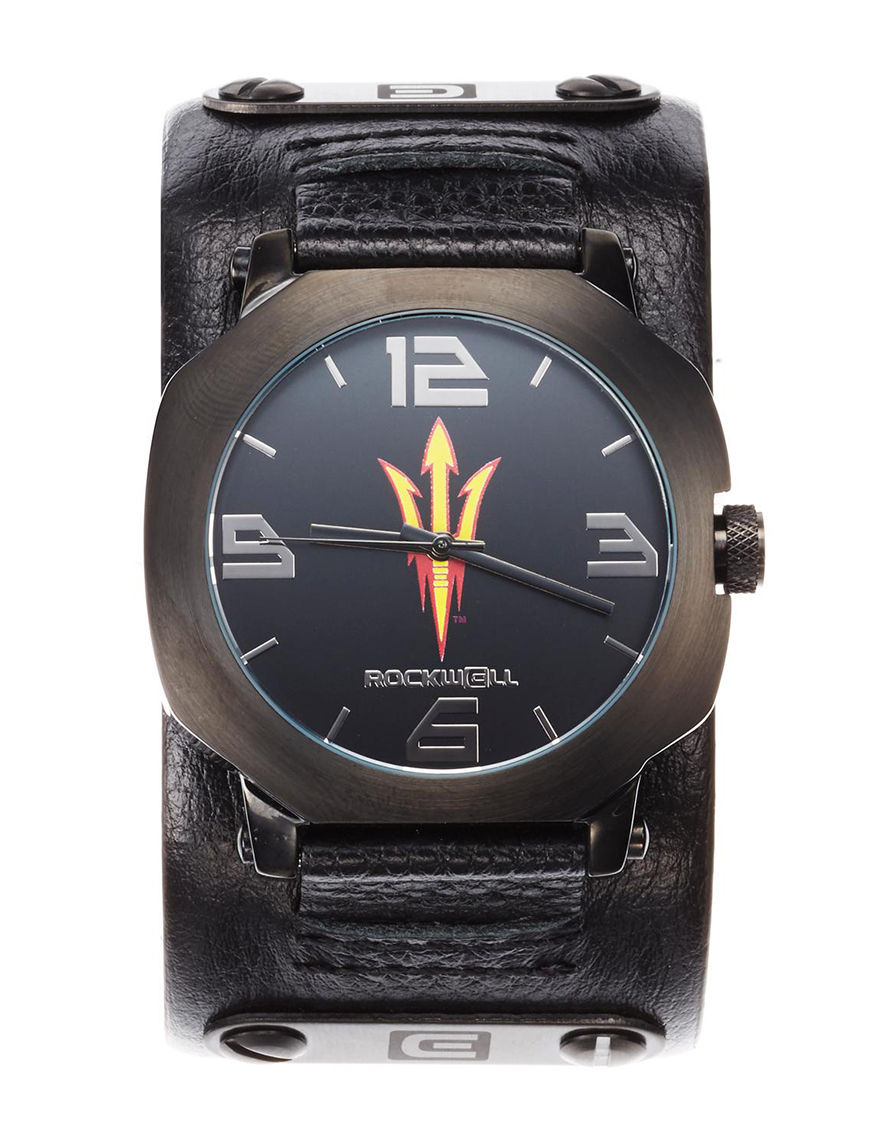 University of RO Black Sport Watches