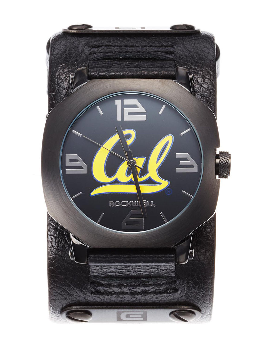 University of RO Black Sport Watches
