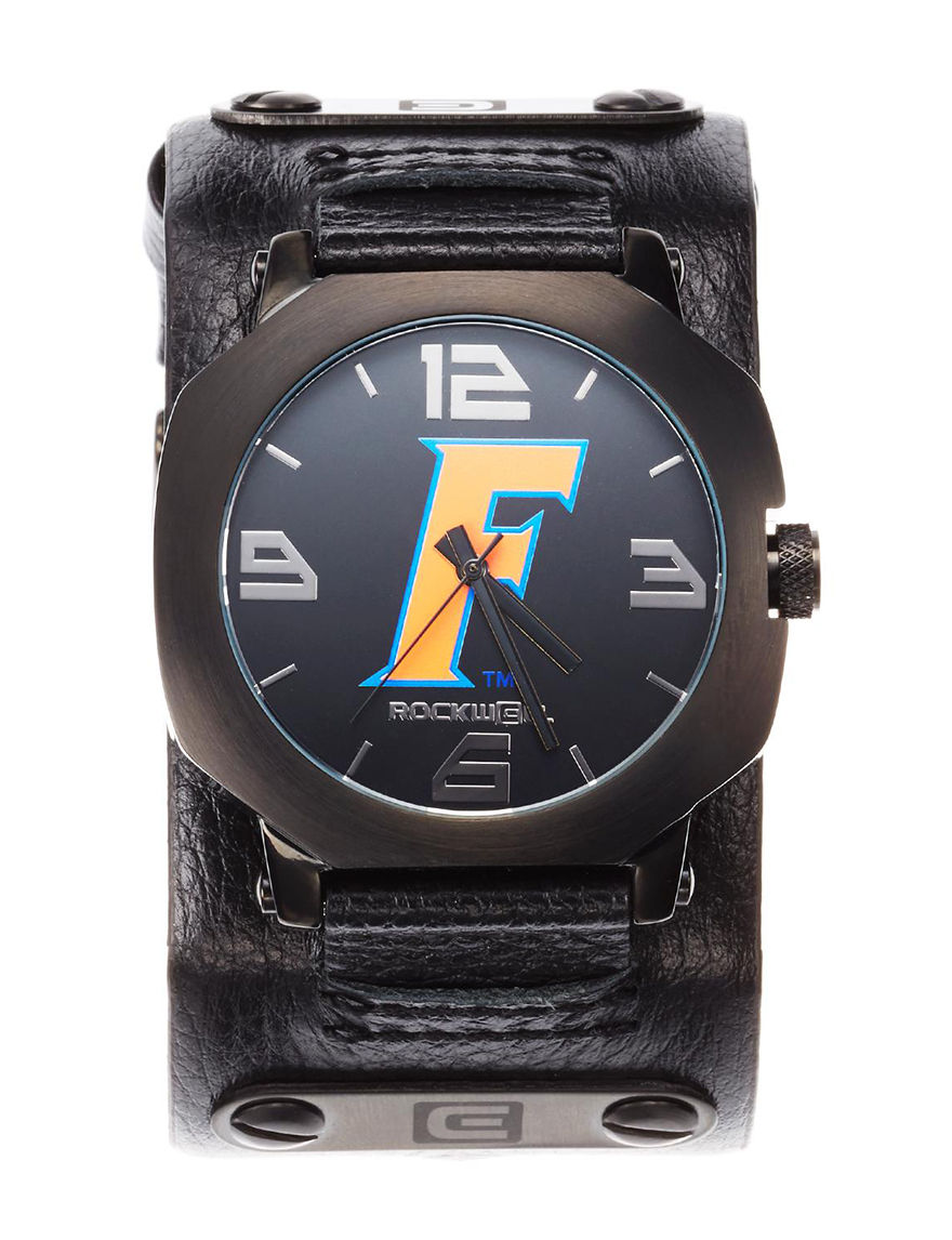 University of RO Black Fashion Watches