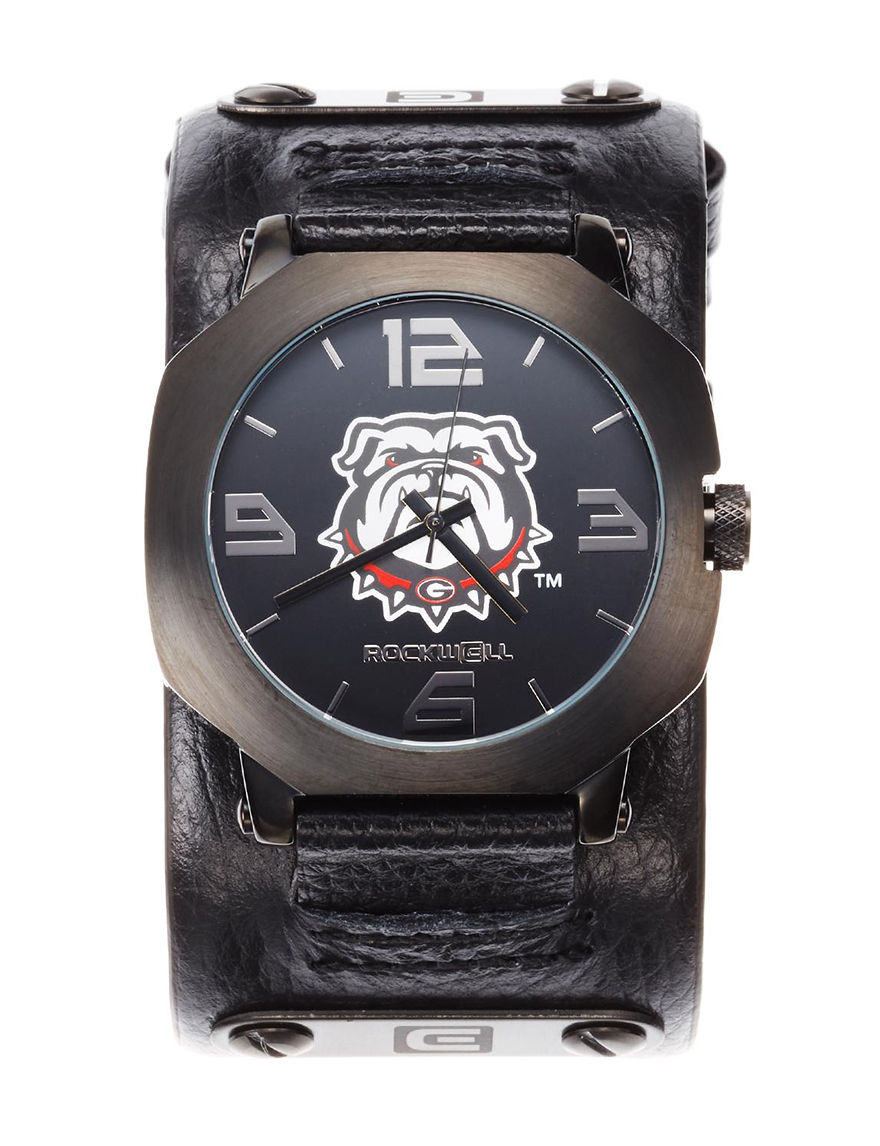 University of RO Black Fashion Watches Sport Watches Accessories