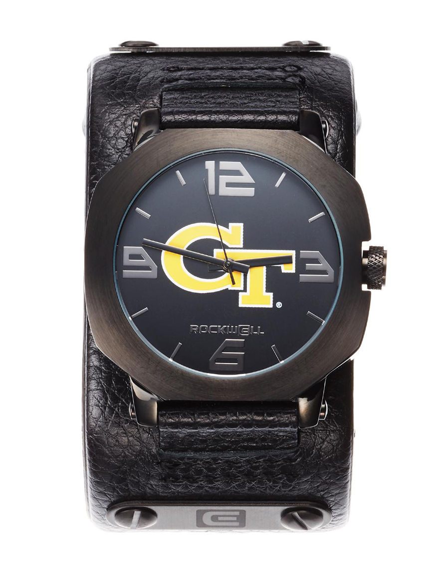 University of RO Black Fashion Watches