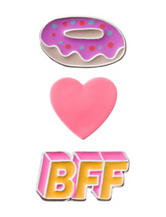 Wishful Park 3-pc. Best Friend Heart Pin Set