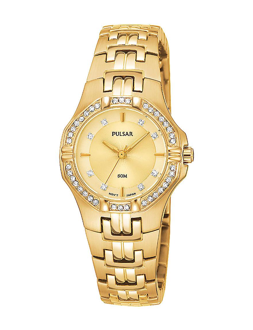 Pulsar Gold Bracelets