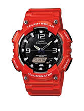 Casio G-Shock Tough Solar Red Sport Watch