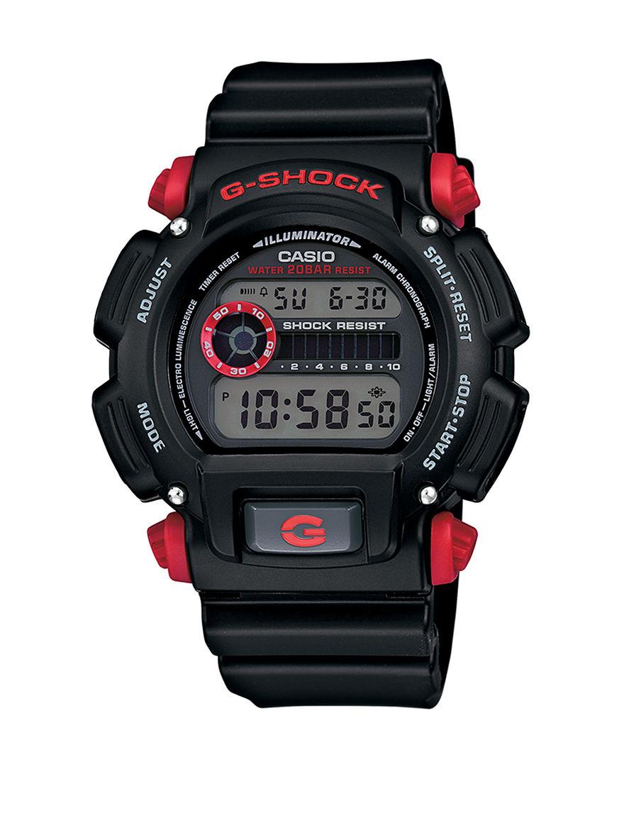 Casio White Sport Watches