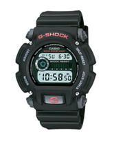 Casio G-Shock Black Resin Digital Watch