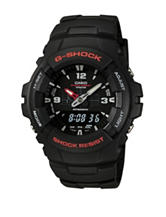 Casio G-Shock Anti-Magnetic Shock Resistant Black Resin Watch