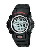 Casio G-Shock World Time Black Resin Digital Watch