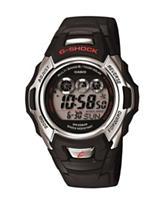 Casio G-Shock Atomic Time Black Resin Digital Watch
