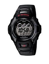 Casio G-Shock Atomic Solar Black Resin Digital Watch