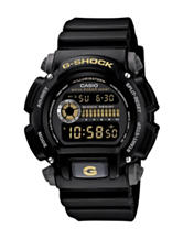 Casio G-Shock Military Shock Resistance Black Resin Strap Watch