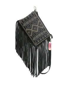 Chinese Laundry Long Fringe Convertible Clutch