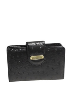 Buxton Ostrich Brights Medium Wallet