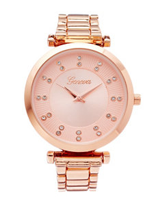 Global Time Rose Gold Fashion Watches