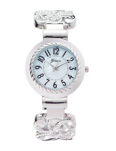 Global Time Silver Fashion Watches