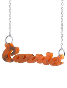 Jay Aimee Acrylic Name Personalized Necklace