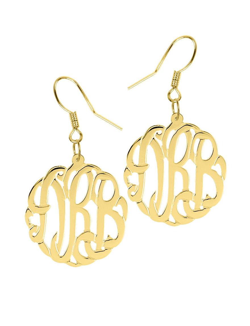 Jay Aimee  Drops Hoops Earrings Fine Jewelry