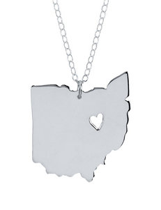 Jay Aimee Personalized Ohio State Necklace