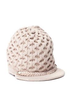 Calvin Klein Beige Knit Hat