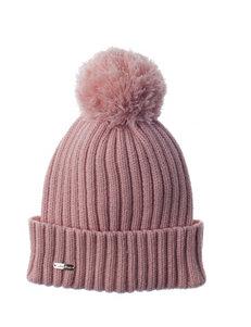 Calvin Klein Blush Pom Pom Beanie Hat