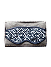 Tri Coastal 2-pc. Speckled Print Sleep Mask & Heather Scarf Travel Set