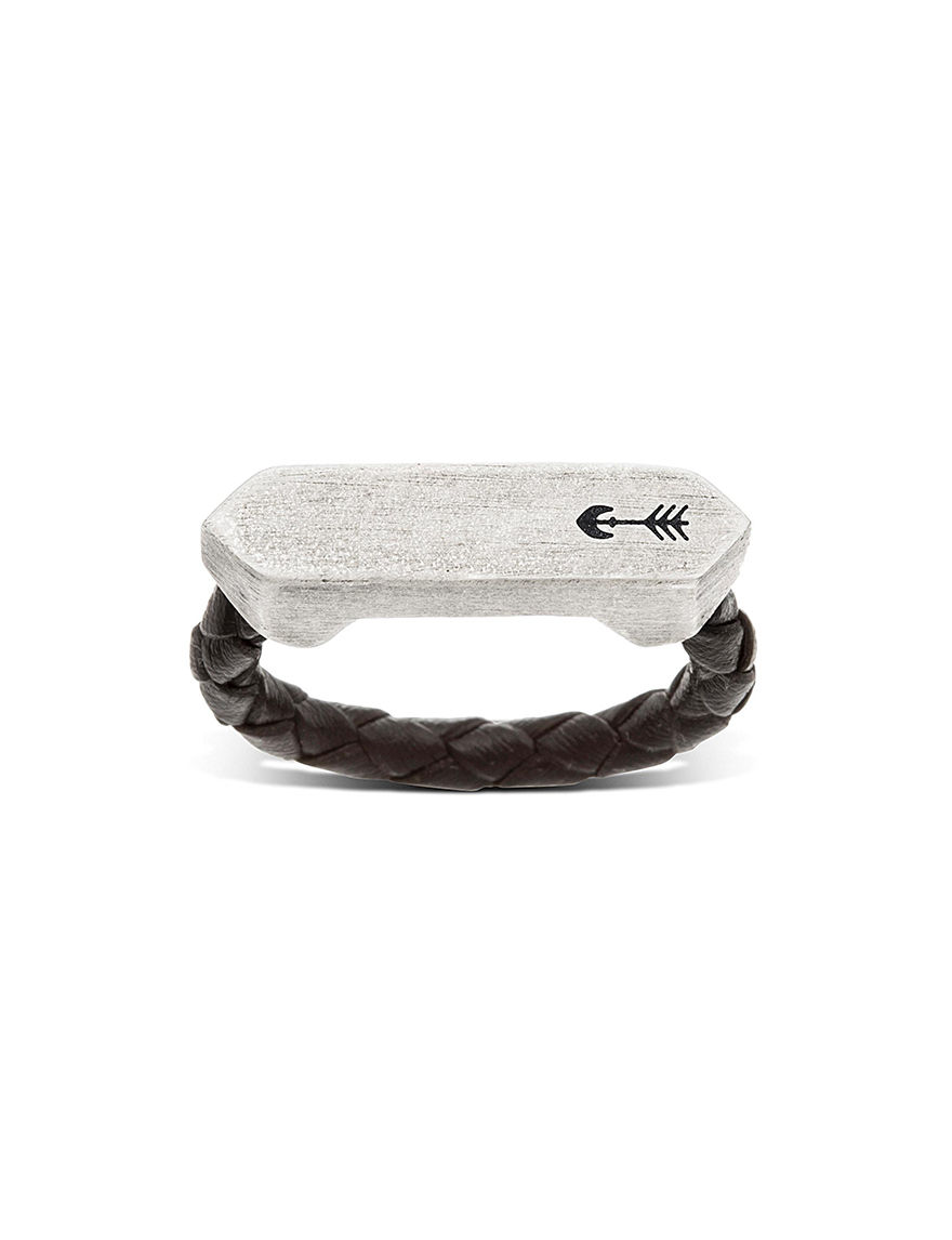 Steve Madden Black / Silver Fine Jewelry