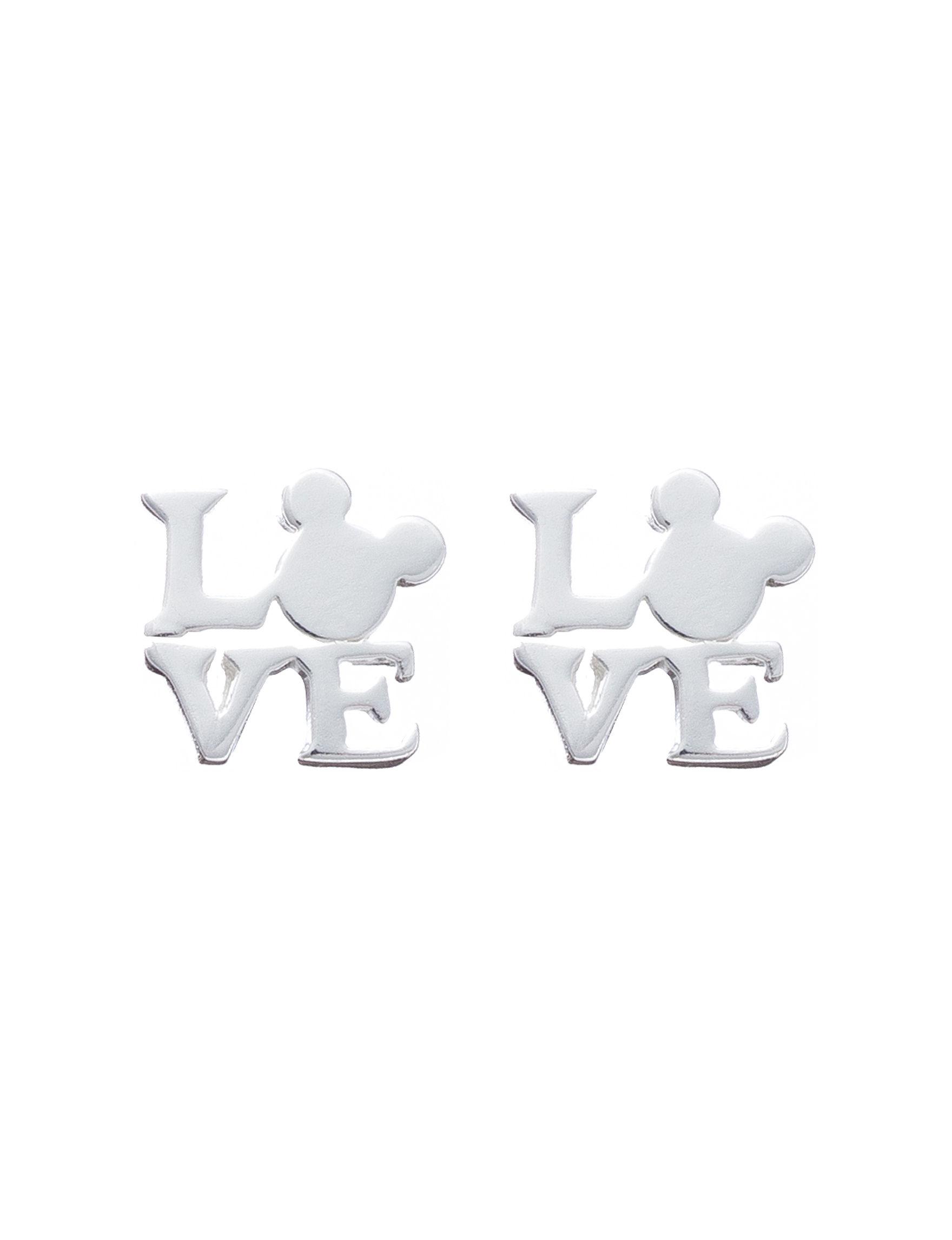 Disney Silver Earrings Fine Jewelry
