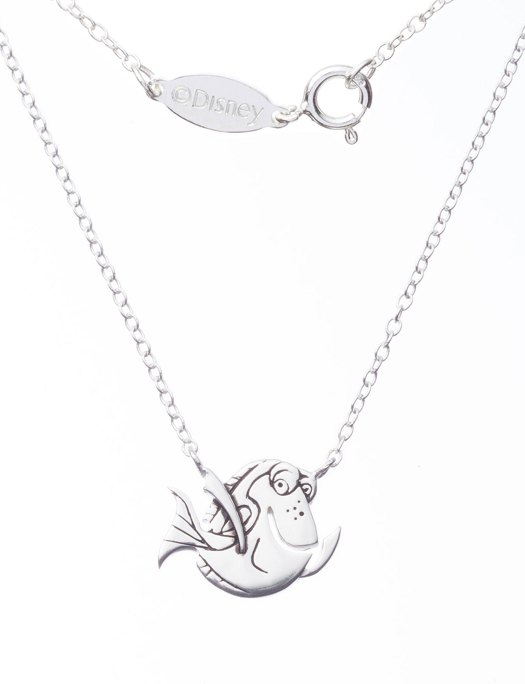 Disney Silver Necklaces & Pendants Fine Jewelry