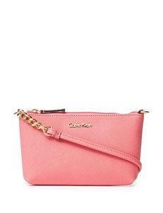 Calvin Klein Saffiano Chain Link Crossbody Bag