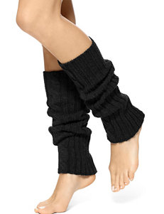 Hue® Cable Knit Wide Ribbed Leg Warmers