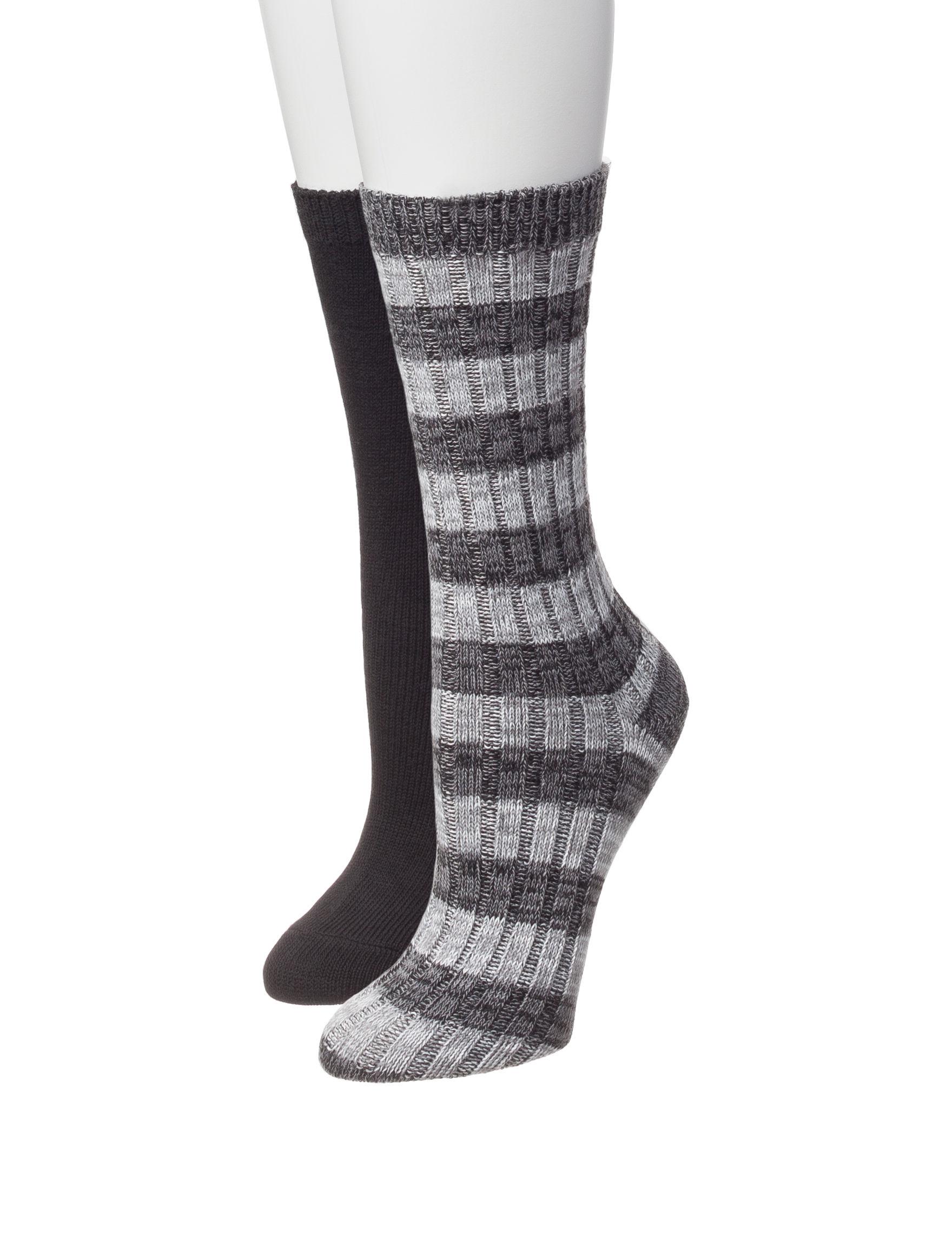 Signature Studio Grey Socks