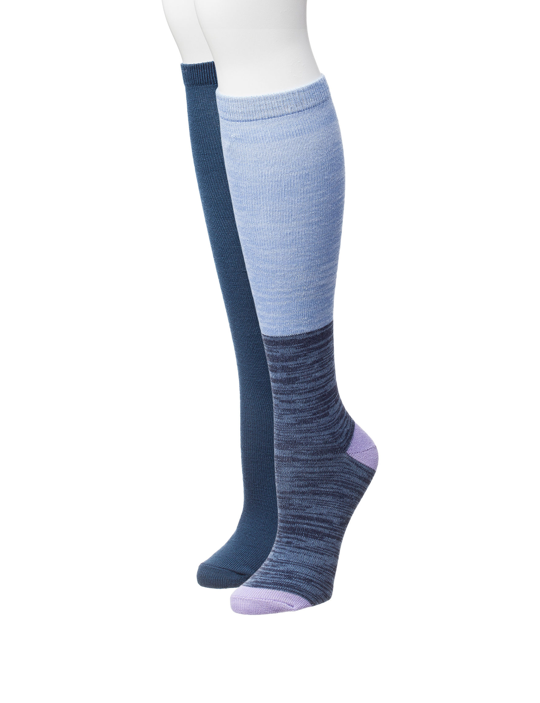 Signature Studio Blue Socks