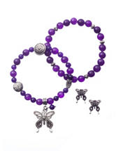 Cellini 3-pc. Butterfly Bracelet & Earrings Set