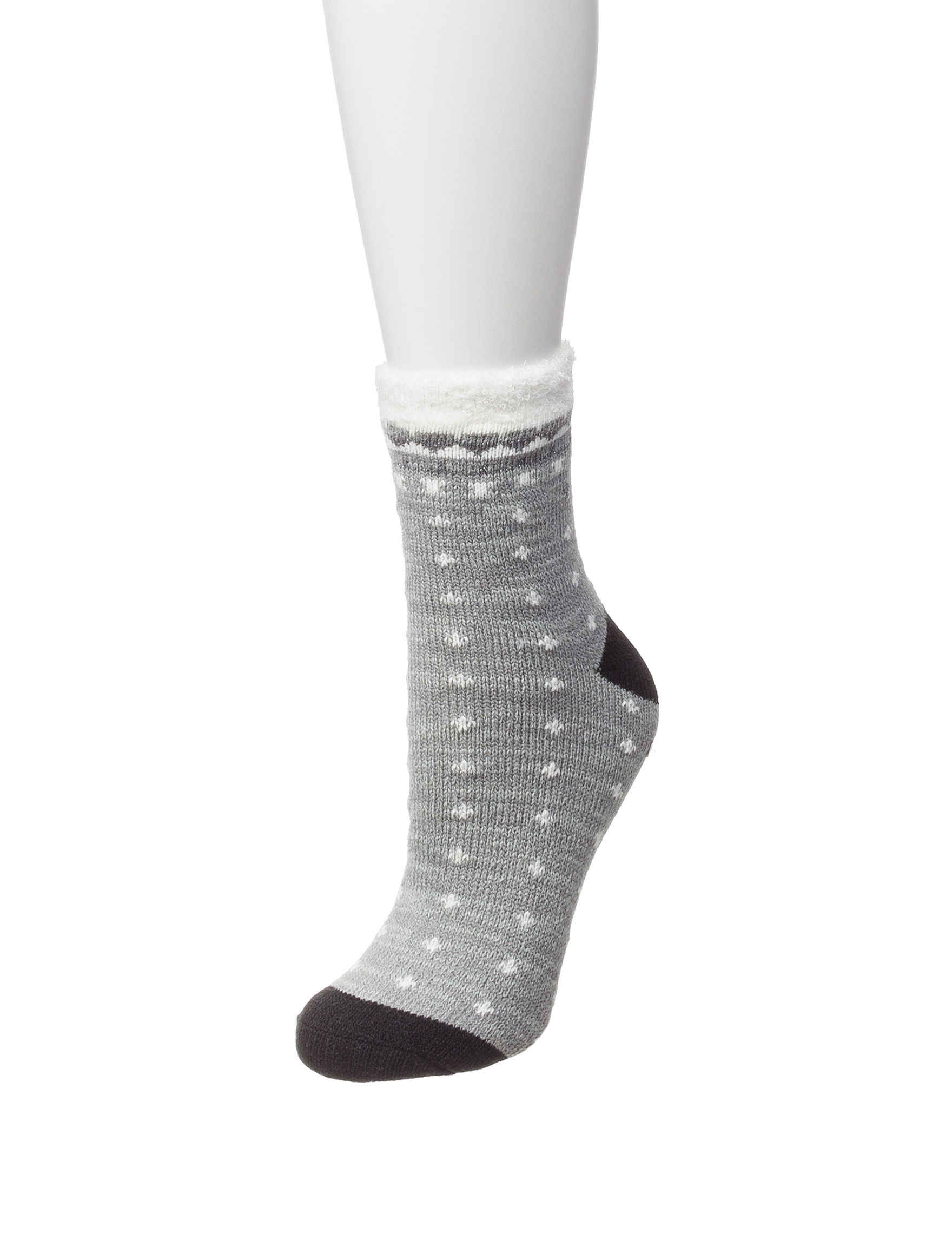 Signature Studio Black Socks
