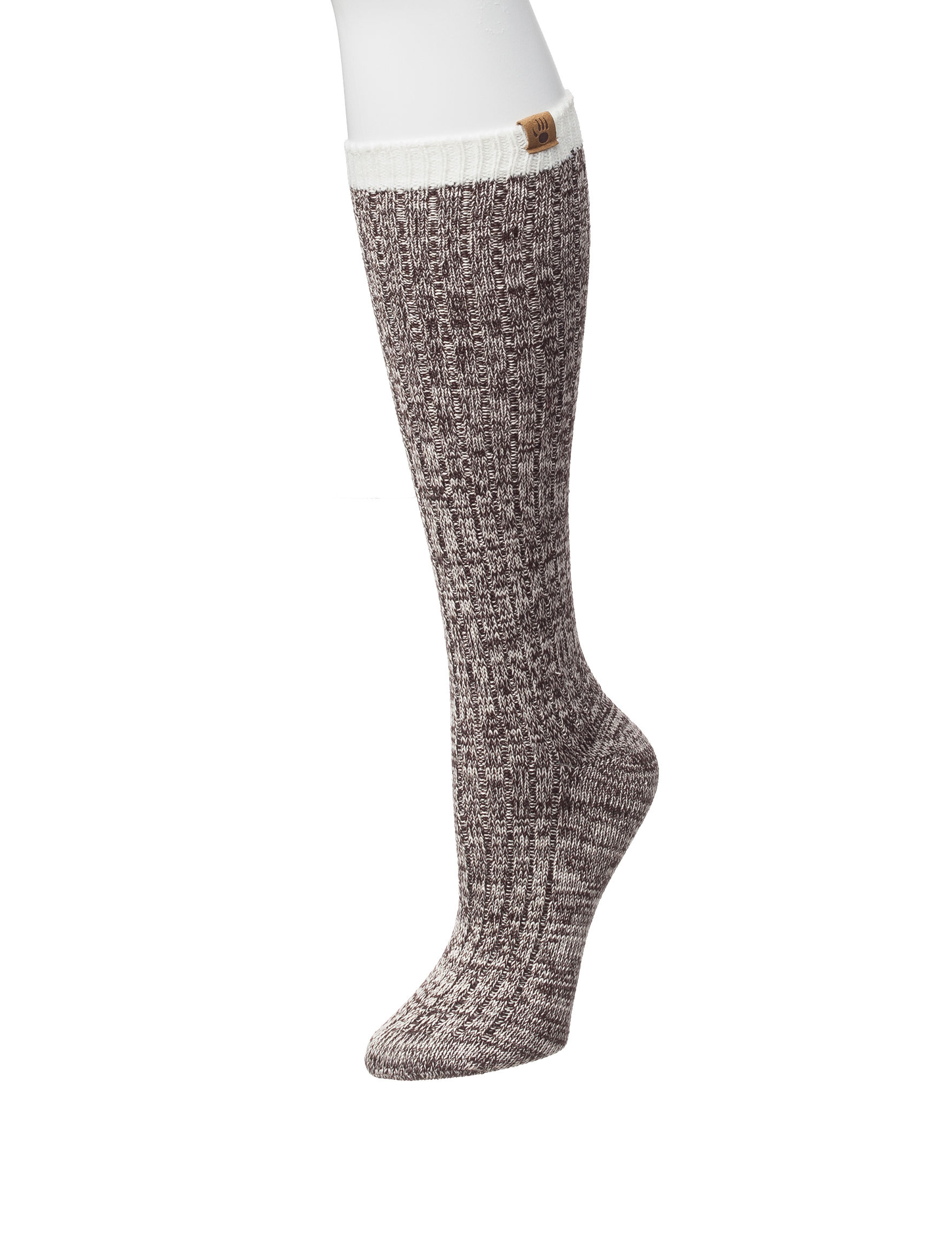 Bearpaw Black Socks