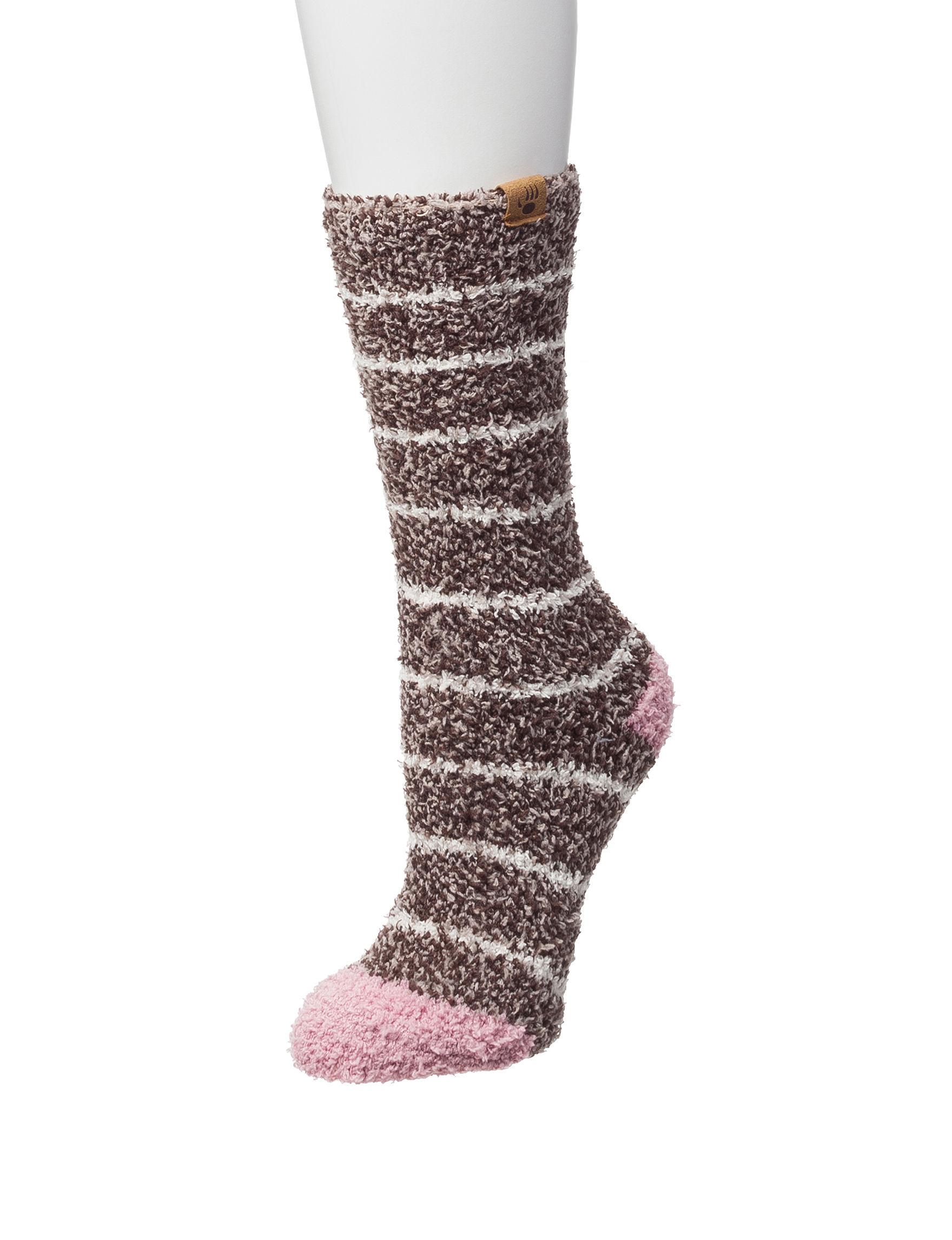 Bearpaw Brown Socks