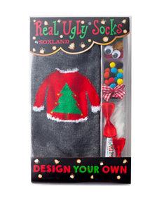 Real Ugly Socks Black