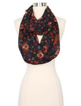 Cejon Fall Leaves Loop Scarf