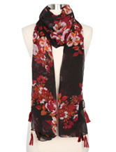 Cejon Rosy Night Oblong Scarf