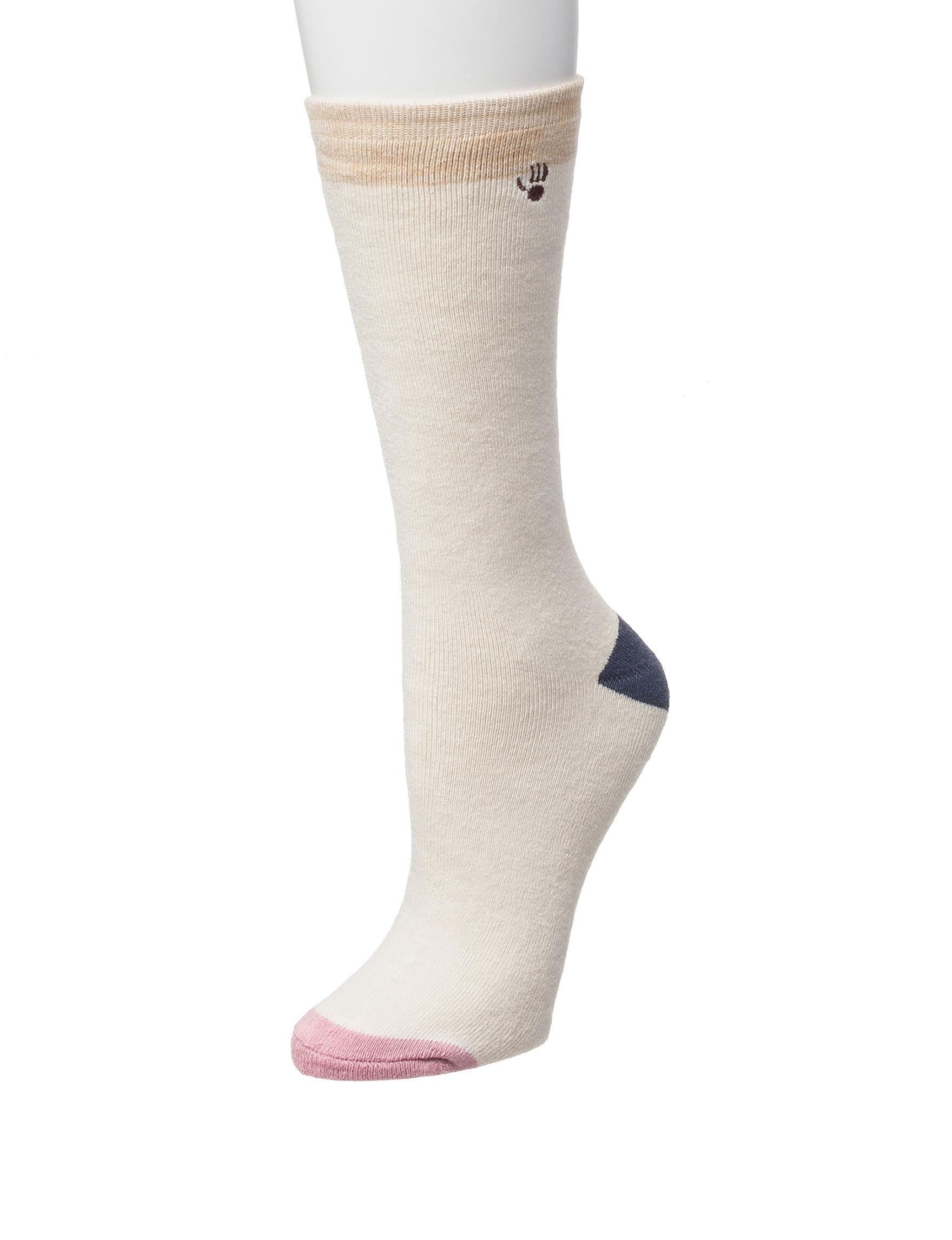 Bearpaw Pink Socks