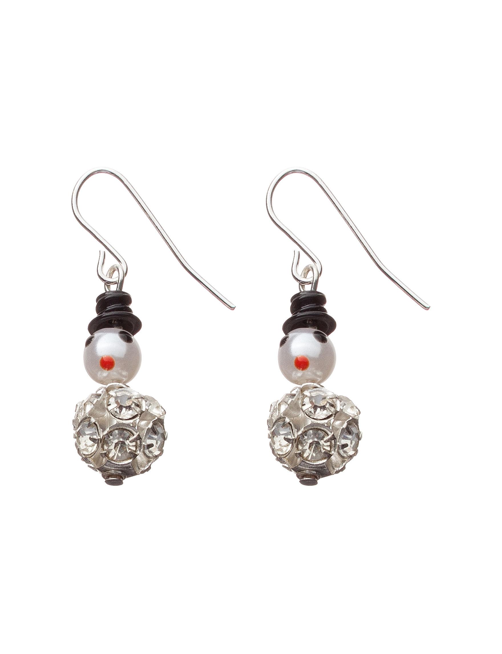 Hannah Silver Drops Fashion Jewelry