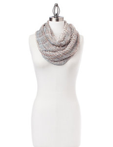 Basha Striped Knit Infinity Scarf