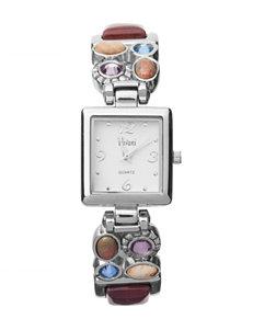 Accutime Brown Multi Fashion Watches