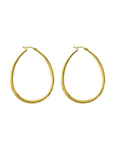 Jessica Simpson Gold Hoops Earrings Fashion Jewelry