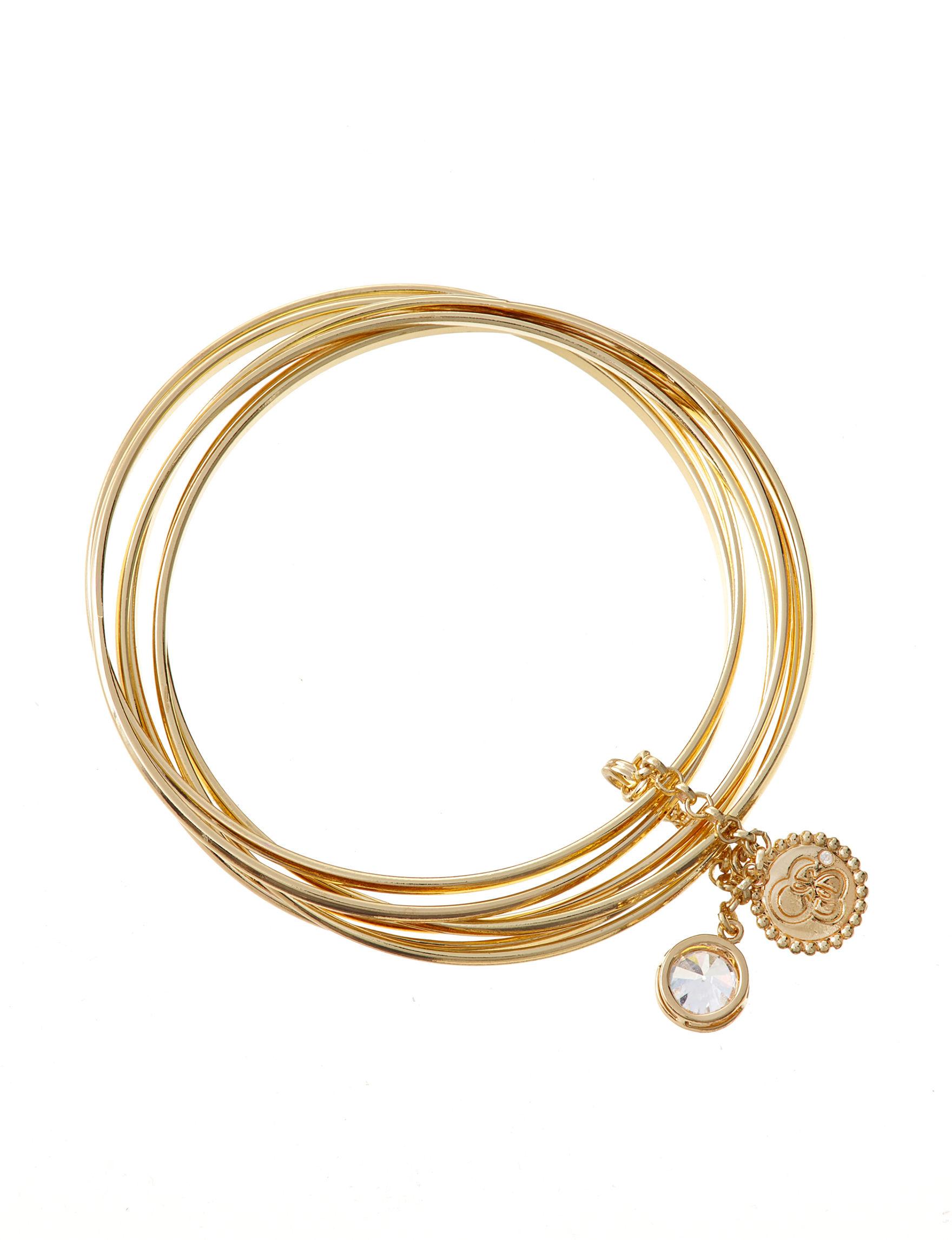 Jessica Simpson Gold Bracelets Fashion Jewelry