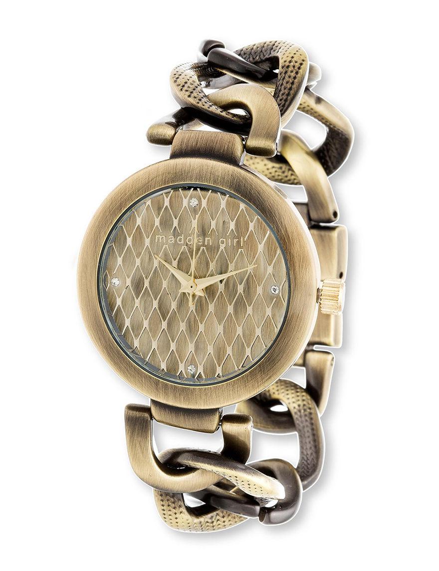 Madden Girl Gold Bracelets