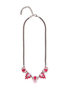 Signature Studio Red Necklaces & Pendants Fashion Jewelry
