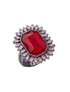 Signature Studio Red Rings Fashion Jewelry
