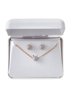 PAJ INC. Gold Studs Earrings Necklaces & Pendants Fine Jewelry