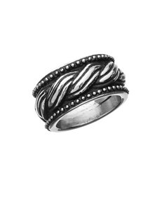 NES Stainless Steel Braided Ring